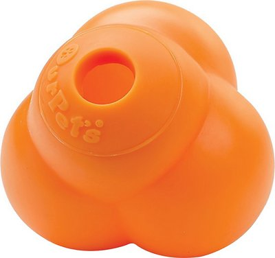 OurPets Atomic Treat Ball Dog Toy, Color Varies