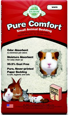 Oxbow Pure Comfort Small Animal Bedding, White, 21-L