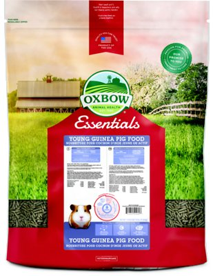 Oxbow Essentials Cavy Performance Young Guinea Pig Food, 25-lb bag
