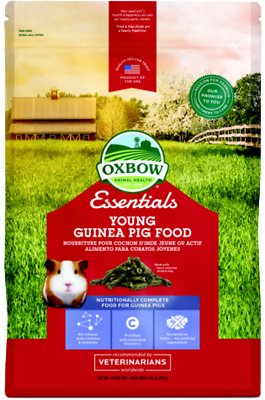 Oxbow Essentials Cavy Performance Young Guinea Pig Food, 5-lb bag