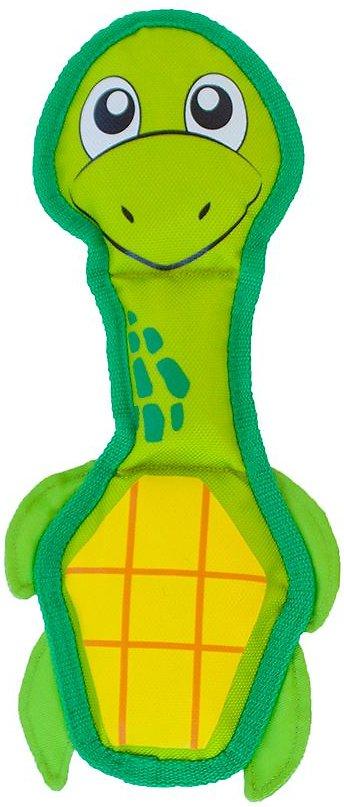 Outward Hound Fire Biterz Turtle Dog Toy