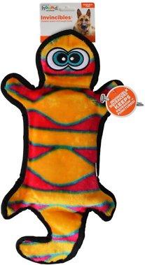 Outward Hound Invincibles Geckos Squeak Dog Toy, 2-Squeaker