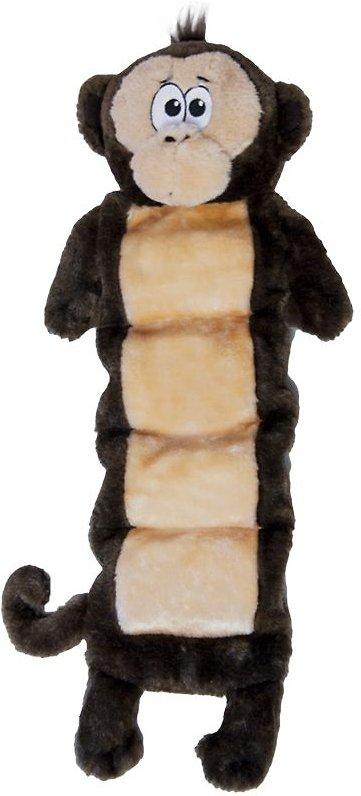 Outward Hound Invincibles Squeaker Palz Monkey Dog Toy
