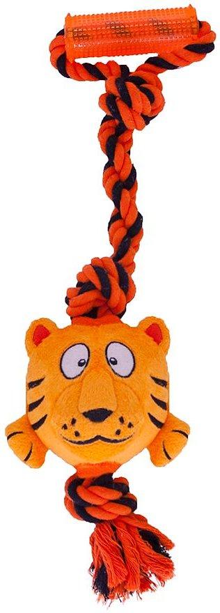 Outward Hound Tuggerz Tiger Dog Toy