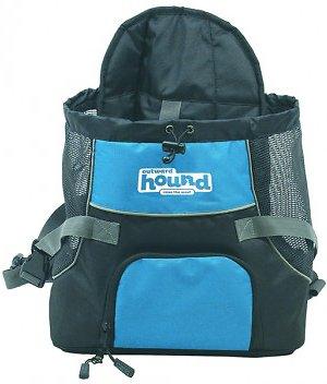 Outward Hound PoochPouch Dog Front Carrier, Blue, Medium