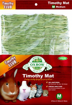 Oxbow Timothy Club Small Animal Mat, Medium