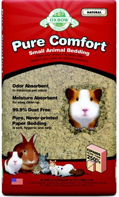 Oxbow Pure Comfort Small Animal Bedding, Natural, 21-L