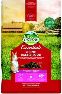 Oxbow Essentials Bunny Basics Young Rabbit Food, 5-lb bag Size: 5-lb bag