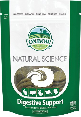 Oxbow Natural Science Digestive Support Small Animal Supplement, 60 count