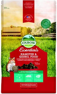 Oxbow Essentials Healthy Handfuls Hamster & Gerbil Food, 1-lb bag
