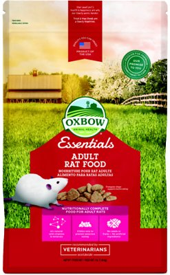 Oxbow Essentials Regal Rat Adult Rat Food, 3-lb bag Size: 3-lb bag