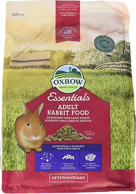 Oxbow Essentials Bunny Basics/T Adult Rabbit Food, 10-lb bag