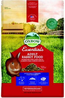 Oxbow Essentials Bunny Basics/T Adult Rabbit Food, 5-lb bag