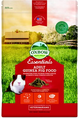 Oxbow Essentials Cavy Cuisine Adult Guinea Pig Food, 10-lb bag