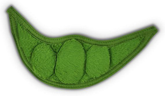 P.L.A.Y. Pet Lifestyle and You Garden Fresh Peapod Plush Dog Toy