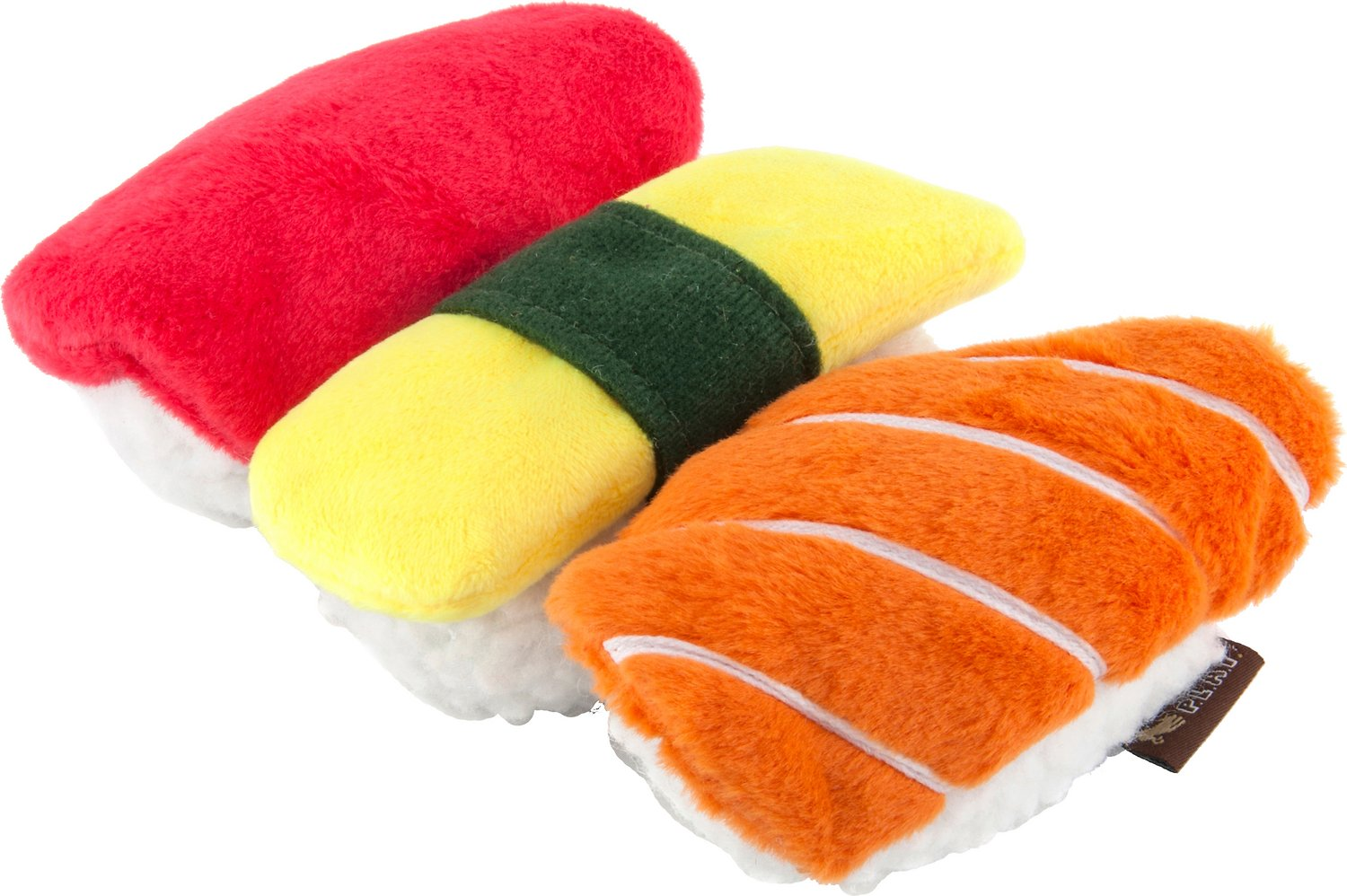 P.L.A.Y. Pet Lifestyle and You International Classic Food Sushi Dog Toy