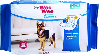 Wee-Wee Disposable Doggie Diapers