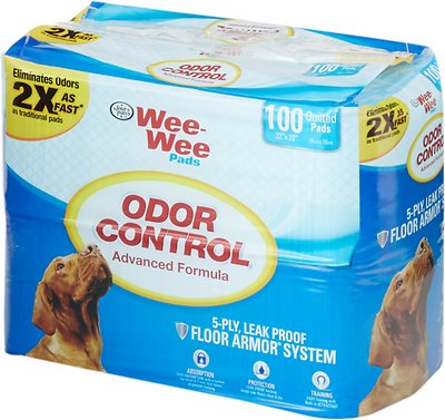 Wee-Wee Odor Control Pads for Dogs, 22 x 23 in