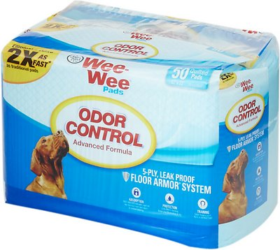 Wee-Wee Odor Control Pads for Dogs, 22 x 23 in, 50 count