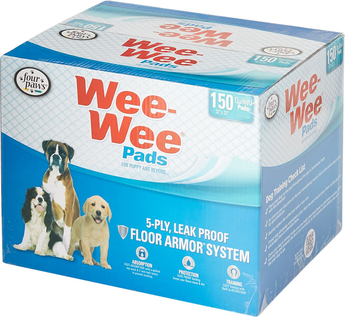 "Wee-Wee Pet Training and Puppy Pads, 22"" x 23"", 14- count"