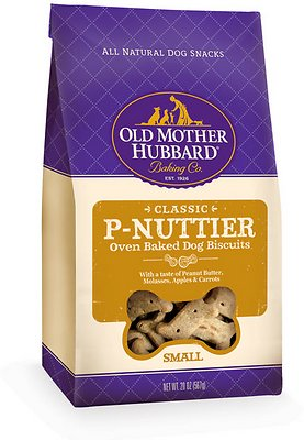 Old Mother Hubbard Classic P-Nuttier Biscuits Baked Dog Treats