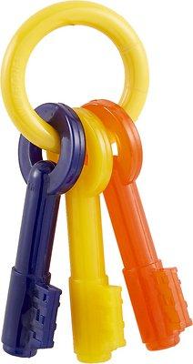 Nylabone Puppy Chew Teething Keys Dog Toy, Small Size: Small