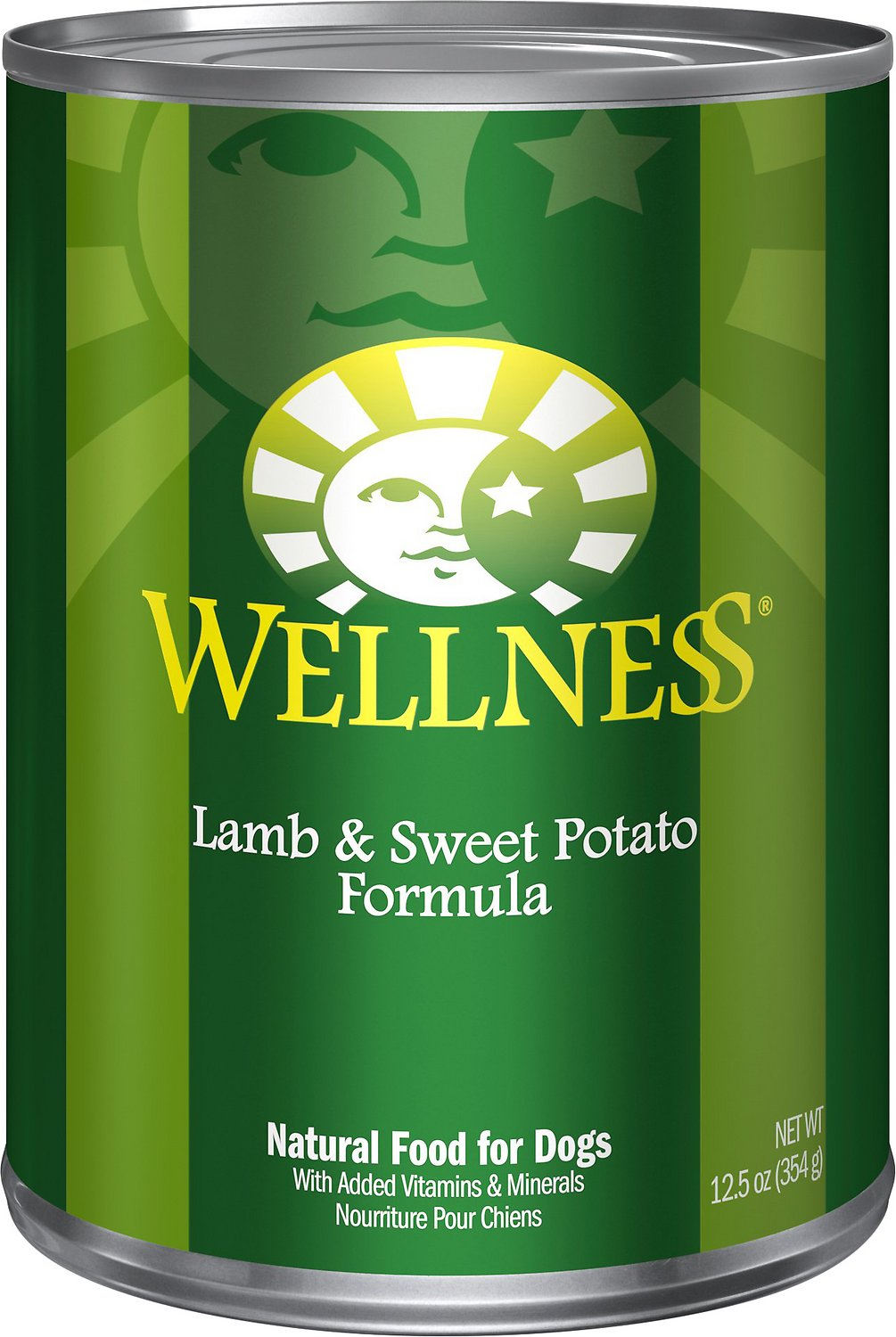 Wellness Complete Health Lamb & Sweet Potato Formula Canned Dog Food, 12.5-oz