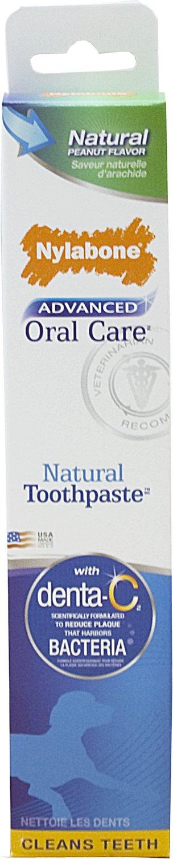 Nylabone Advanced Oral Care Natural Dog Toothpaste