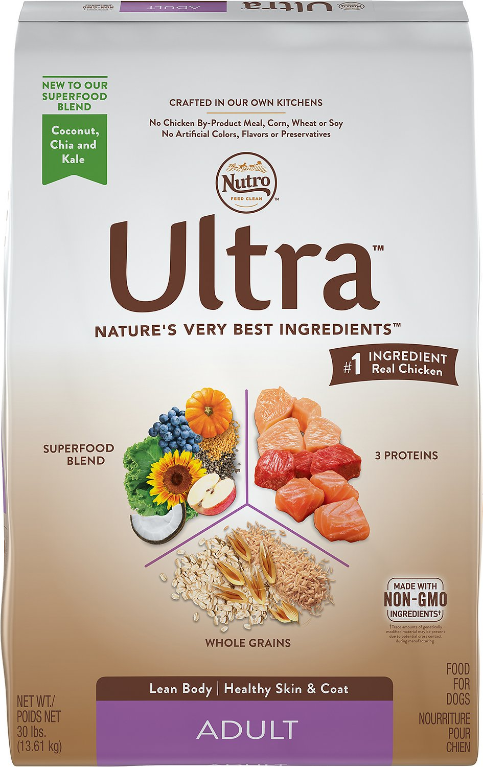 Nutro Ultra Adult Dry Dog Food Image
