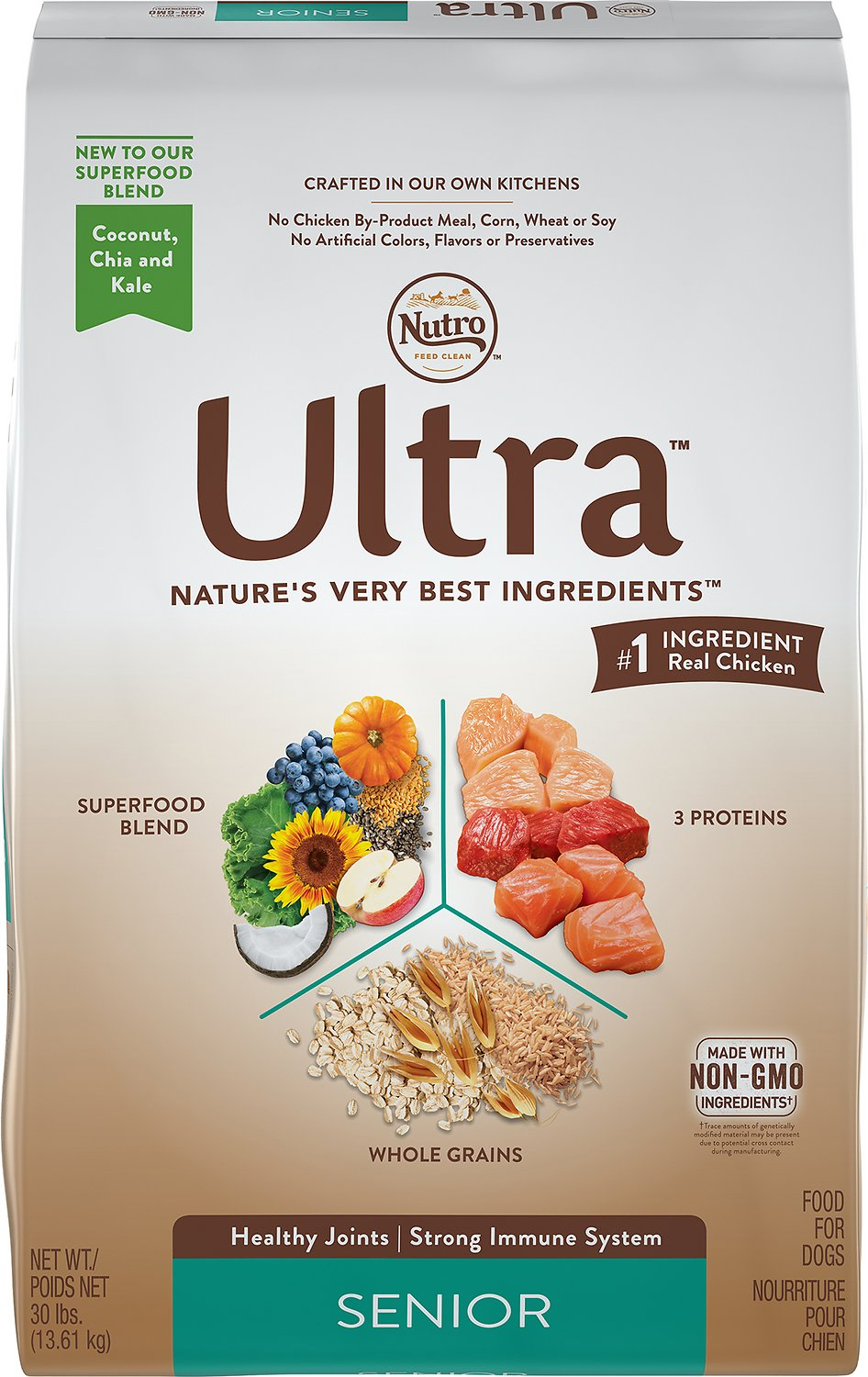 Nutro Ultra Senior Dry Dog Food Image