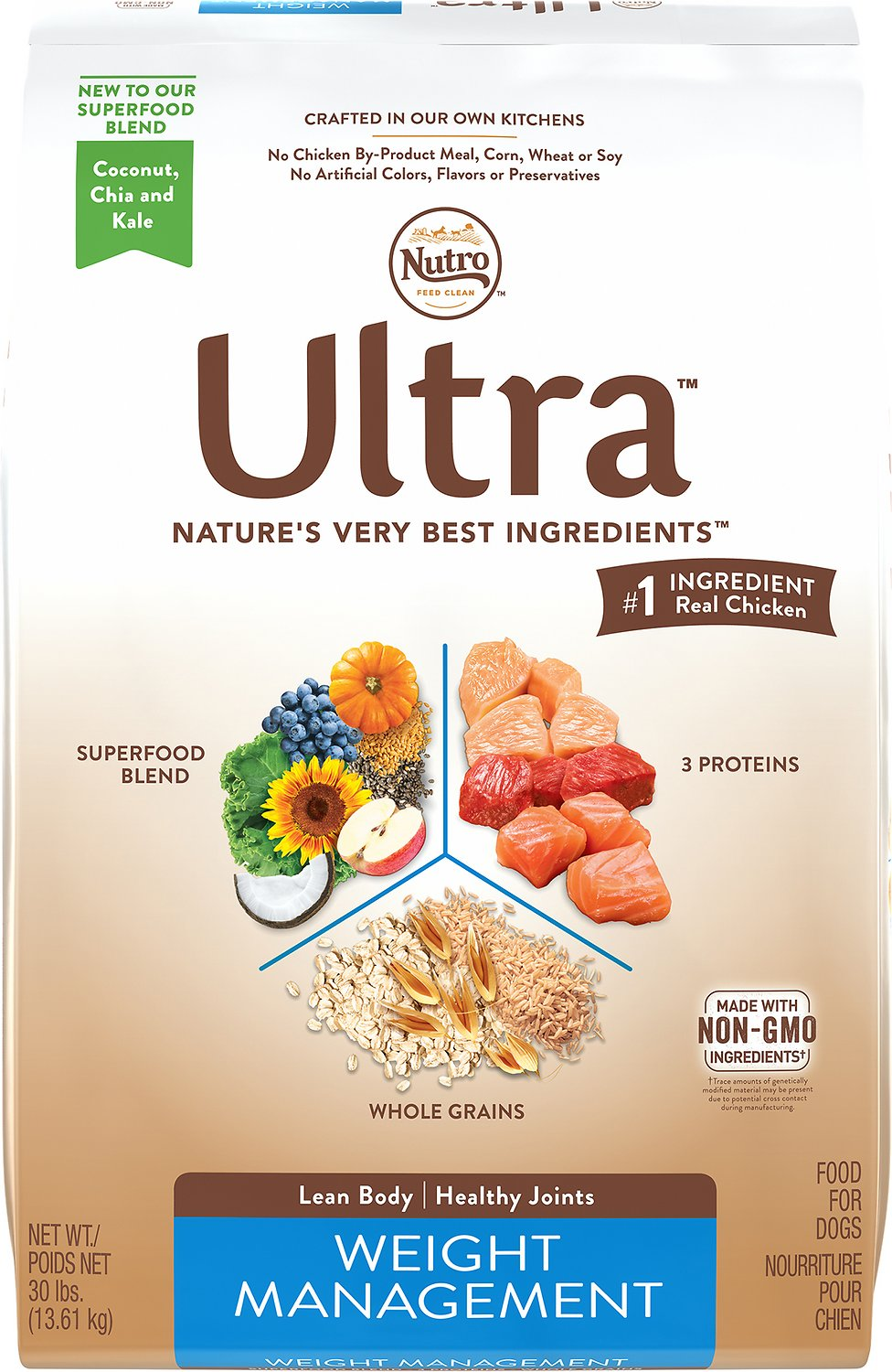 Nutro Ultra Weight Management Dry Dog Food Image