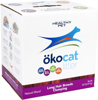 Okocat Natural Wood Long Hair Breeds Cat Litter