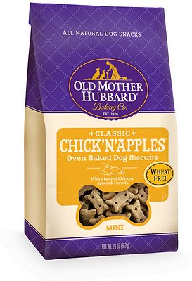 Old Mother Hubbard Classic Chick'N'Apples Biscuits Mini Baked Dog Treats