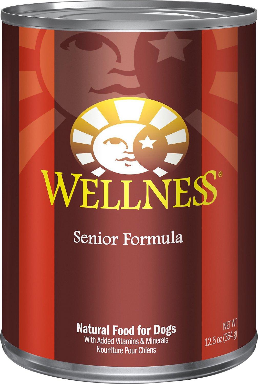 Wellness Complete Health Senior Formula Canned Dog Food, 12.5-oz