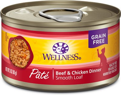 Wellness Complete Health Adult Beef & Chicken Formula Grain-Free Canned Cat Food