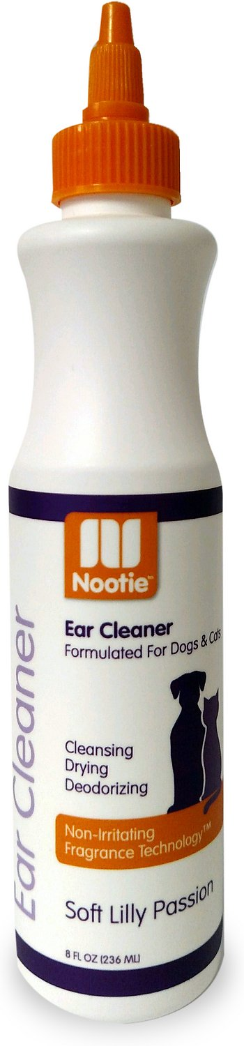 Nootie Soft Lilly Passion Dog & Cat Ear Cleaner, 8-oz bottle