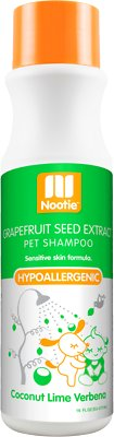 Nootie Coconut Lime Verbena Hypoallergenic Formula Dog Shampoo, 16-oz bottle