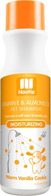 Nootie Warm Vanilla Cookie Moisturizing Formula Dog Shampoo