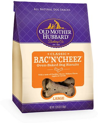Old Mother Hubbard Classic Bac'N'Cheez Biscuits Baked Dog Treats