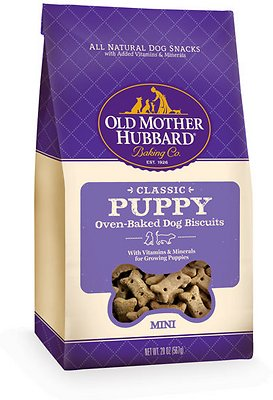 Old Mother Hubbard Classic Puppy Biscuits Mini Baked Dog Treats
