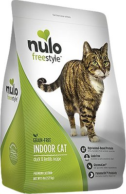 Nulo Cat Freestyle Duck & Lentils Grain-Free Indoor Dry Cat Food, 12-lb bag Size: 12-lb bag, Weights: 12.0 pounds