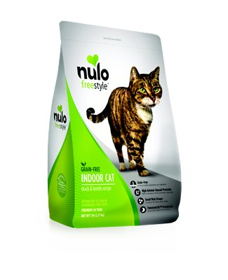 Nulo Cat Freestyle Duck & Lentils Grain-Free Indoor Dry Cat Food, 5-lb bag