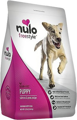 Nulo Dog Freestyle Salmon & Peas Recipe Grain-Free Puppy Dry Dog Food, 24-lb bag