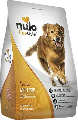 Nulo Dog Freestyle Cod & Lentils Recipe Grain-Free Adult Trim Dry Dog Food, 4.5-lb bag