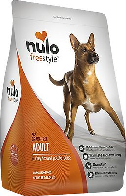 Nulo Dog Freestyle Turkey & Sweet Potato Recipe Grain-Free Adult Dry Dog Food, 11-lb bag
