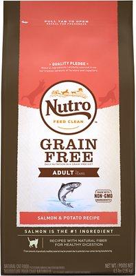 Nutro Grain-Free Adult Salmon & Potato Recipe Dry Cat Food