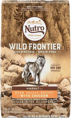 Nutro Wild Frontier Adult Open Valley Recipe Grain-Free Chicken Dry Dog Food