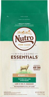 Nutro Wholesome Essentials Puppy Pasture Fed Lamb & Rice Recipe Dry Dog Food