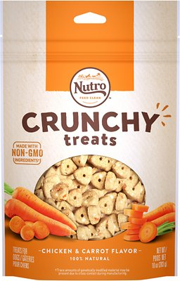 Nutro Crunchy Chicken & Carrot Flavor Dog Treats