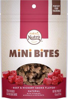 Nutro Mini Bites Beef & Hickory Smoke Flavor Dog Treats